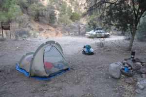 2013-05-03 04 camp at trailhead