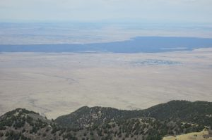 2013-05-18 44 what is dark region in Tularosa (from summit)