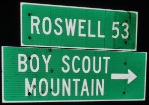 2013-07-06 Capitan Mountain 001 road sign