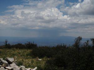 2013-07-06 Capitan Mountain 029 approaching raincloud