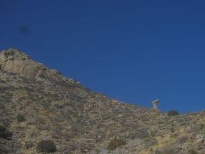 Hoodoo above lower Windmill Canyon