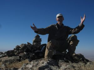 Author on South Summit of Florida Peak