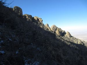 11 approach ridge viewed on descent