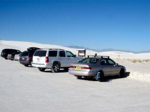 Trailhead for Alkali Flats Trail