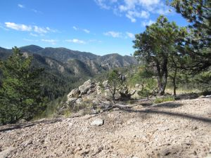 Interior canyons of the Apache Kid Wilderness.