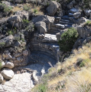 Dry Falls in Beeman Canyon  (the turn-around point) from Spectacle Trail