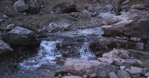 Waterfall in West Railroad Canyon