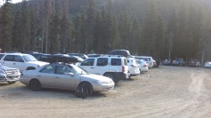 "O3 Mighty Camry in ""Hiker Parking"""
