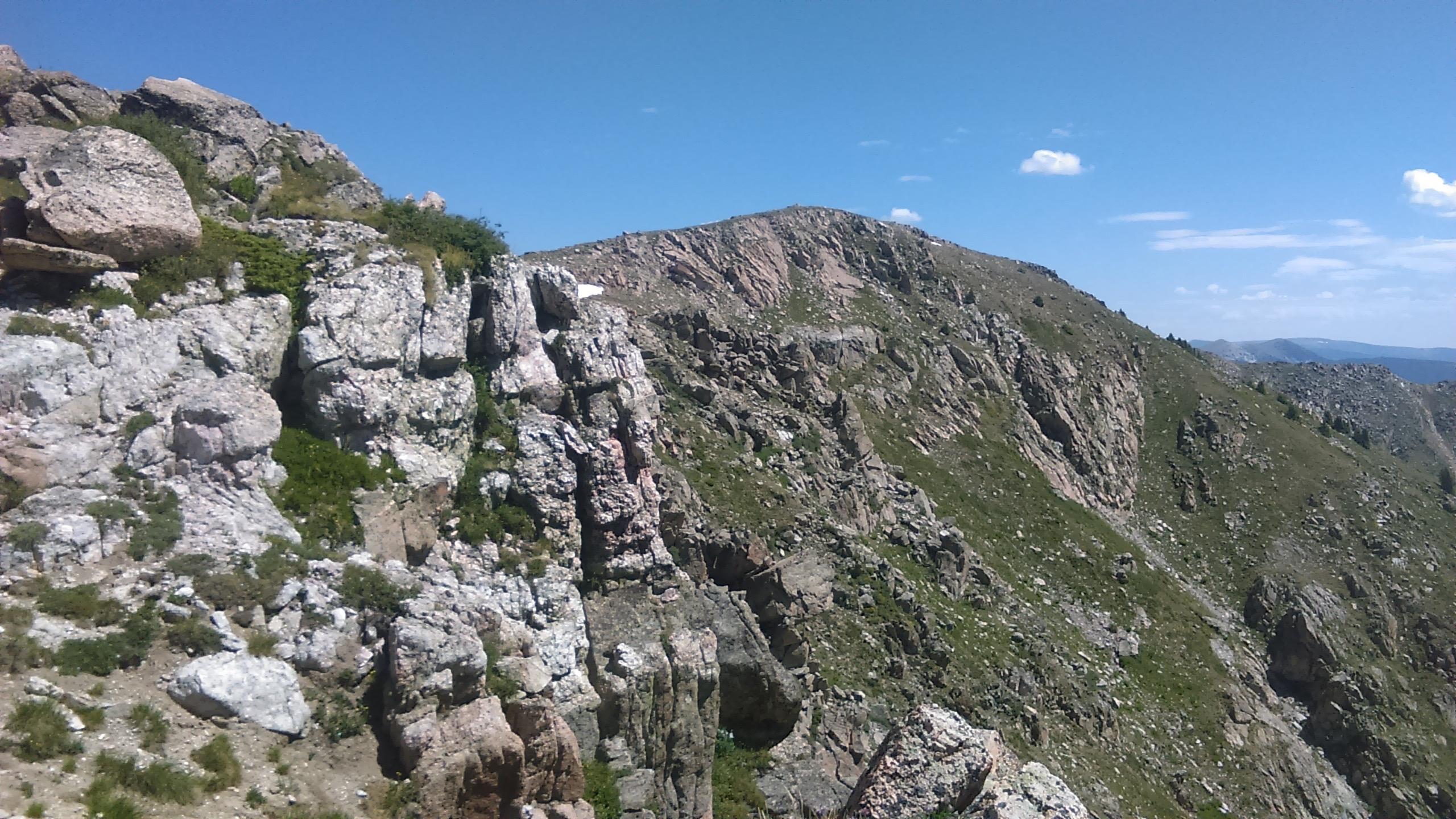 08 Ridge at top of Santa Fe Baldy