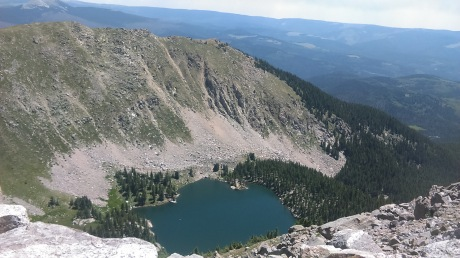 10 Lake Katherine from Summit