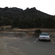 03 Might Camry at La Luz trailhead