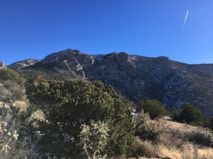 10 Sandia Crest from 3 Gun Springs junction