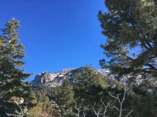 12a glimpses of South Sandia Peak