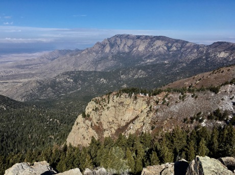 14 Summit View to North Sandia Crest