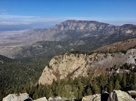 14 Summit View to North Sandia Crest