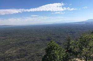 08 Mt Taylor across a sea of lava