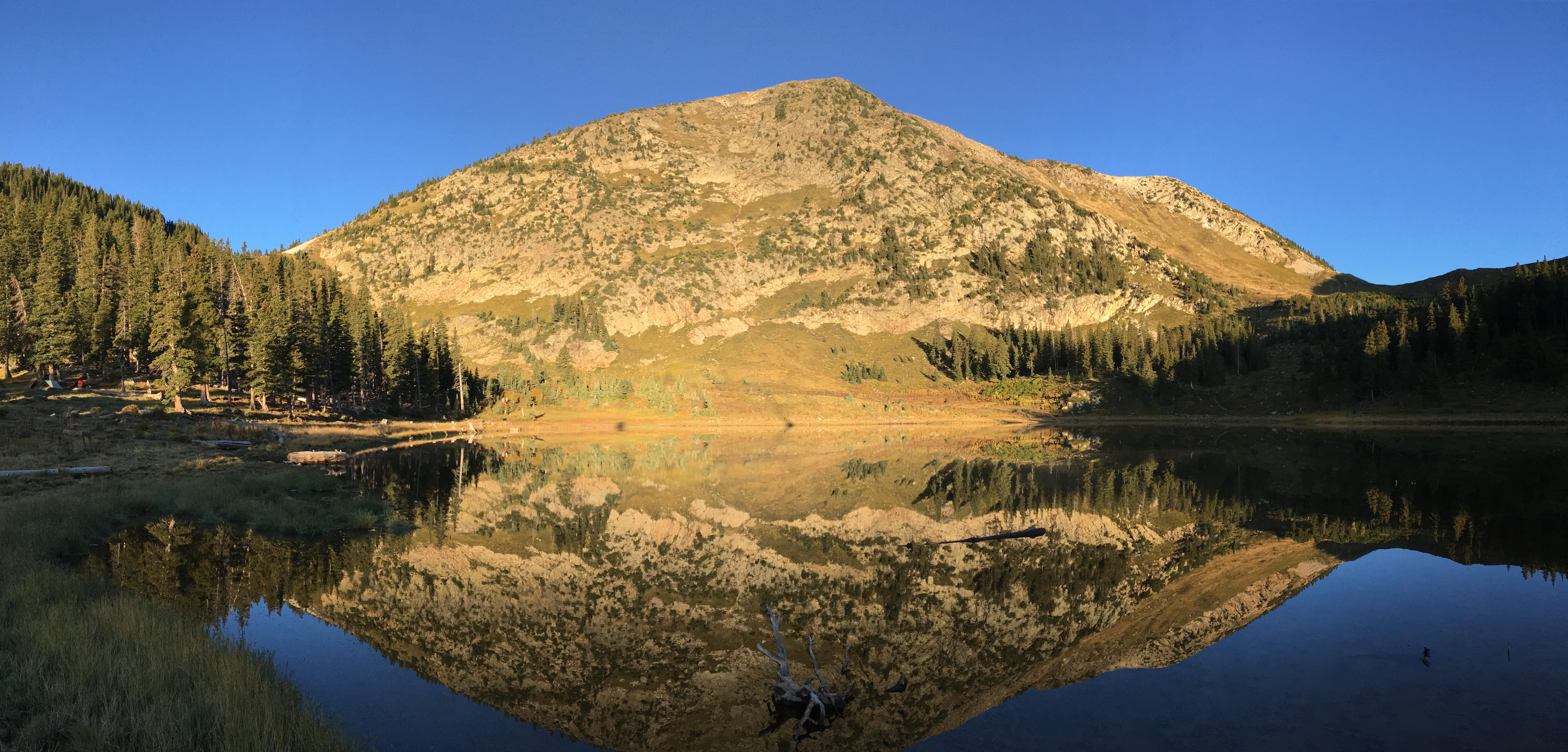 04 East Pecos Baldy above Pecos Baldy Lake