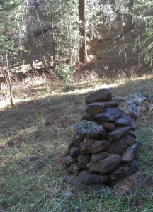 08 Dry Confluence Cairn