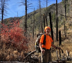 10 Author in hunting season attire