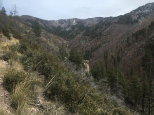 10 steep terrain.