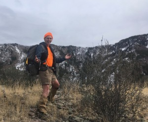 14 author before ridge to West Baldy
